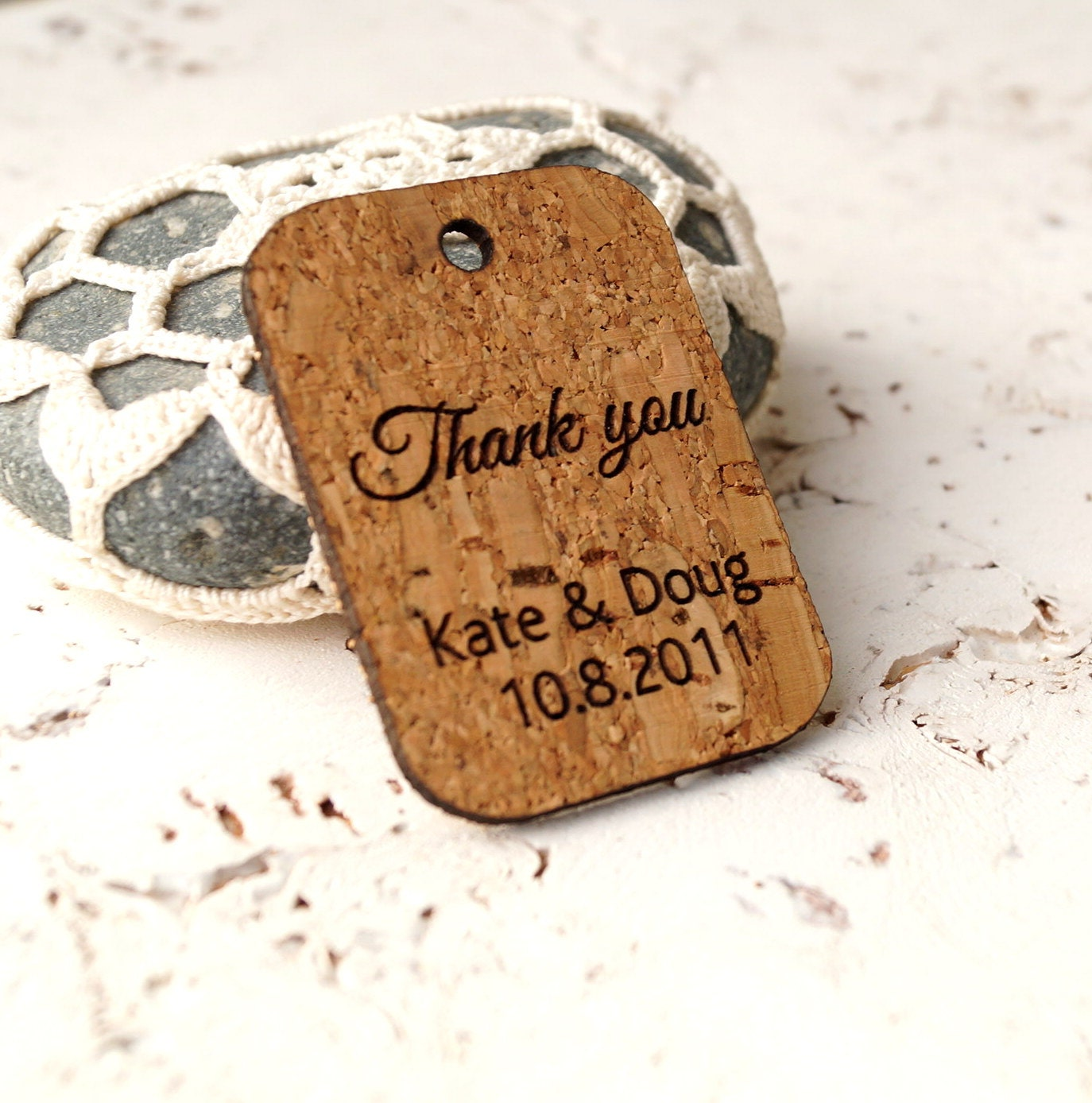 Rustic Favor Tags Wedding Favor Tags Cork Vineyard Farm Barn