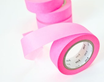 Washi Tape Neon - Pink Masking Tape - Neon Scrapbook Tape in Melbourne, Australia
