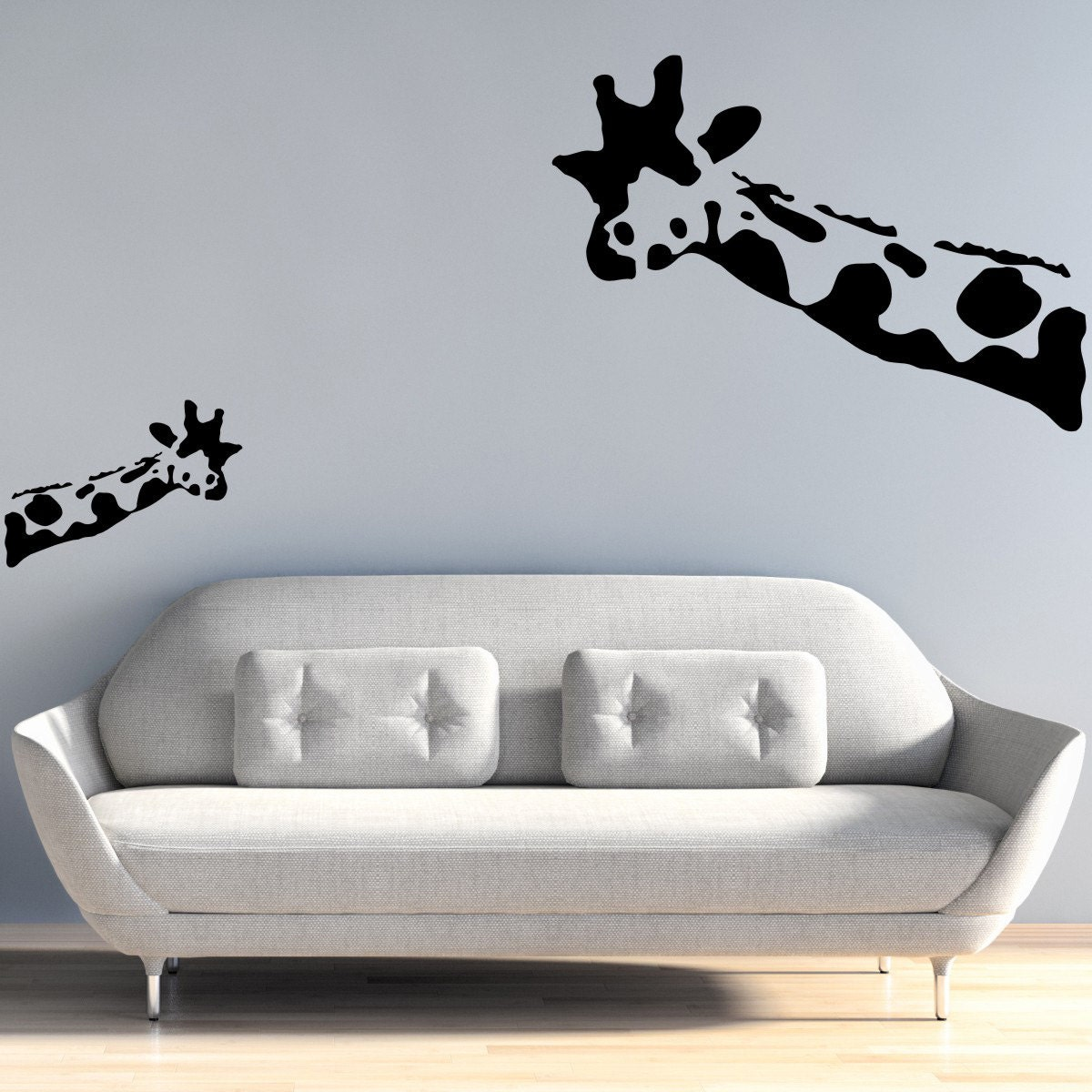 Banksy wall decal wait what giraffe wall stickers banksy zoom amipublicfo Gallery