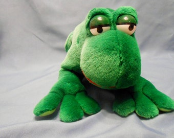 Ganz Bros  plush Frog The Heritage Collection 1988 rattle frog