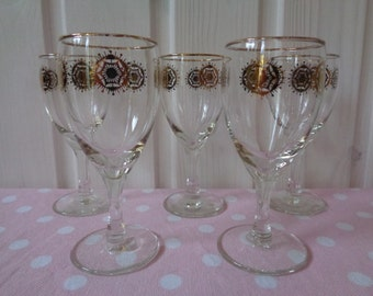 1060s etsy Unusual drinking glasses uk