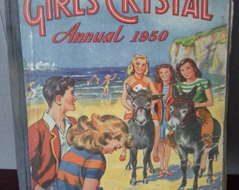 1950s Girls crystal annual