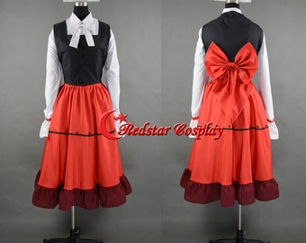 APH Axis Powers Hetalia Hungary Elizabeth Cosplay Costume - Custom made in Any size