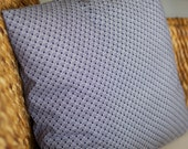 Blue Scallops Pillow Cover - 18X18