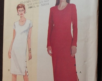 LAST CHANCE SALE - Today's Fit 7055 - Ladies Dress Pattern - Small and Medium