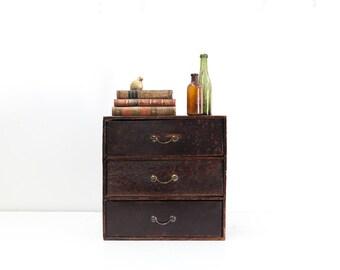 Three Drawer Miniature Chest