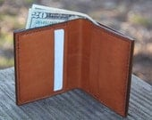 Mens Minimalist Leather Wallet