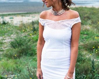 Grecian Goddess Statement Necklace