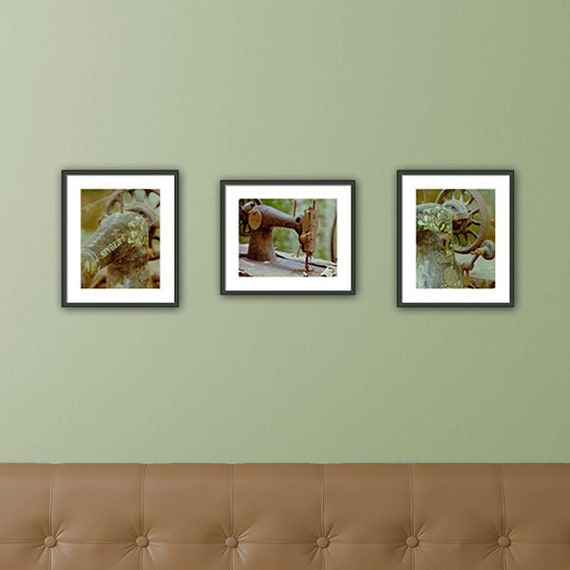 Wall Art For Craft Room : Craft room wall art set of fine prints by