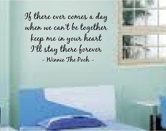 If there ever comes a day famous children wall quote wall art home decor vinyl decal sticker bedroom playroom you choose size and colour