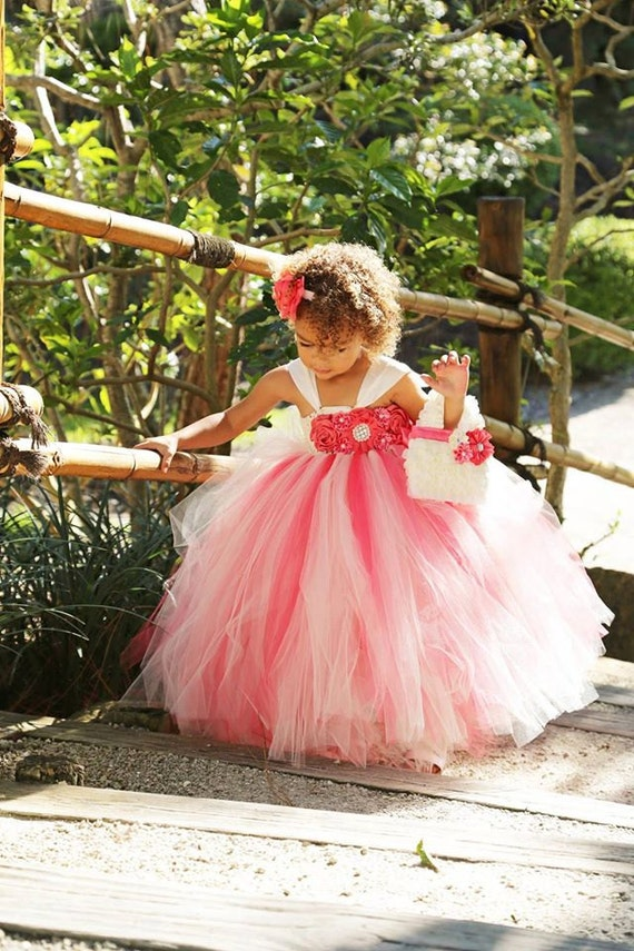 Matching bridesmaid and flower girl dresses high cut for Matching wedding and flower girl dresses