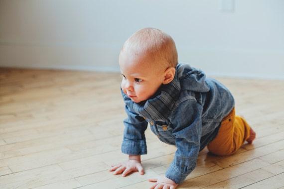 Bib / Scarf / Bandana / Grey Striped Flannel Drool Scarf with WATERPROOF lining // drool bib // drool scarf // Baby Infinity Scarf