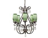 Mason Jar chandelier with green jars, mason jar light, mason jar lights, country home decor, mason jar lighting, crystal chandelier