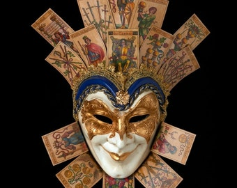 Venetian Mask | Naibi Cards Joker