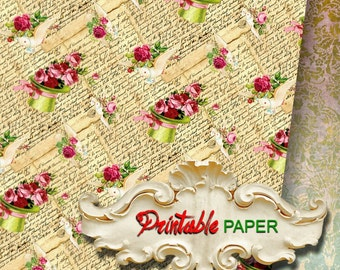 DAVE - Printable wrapping paper for Scrapbooking, Creat - Download and Print
