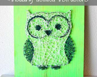 string art pattern string art kit owl string art diy string art how to make string art. Black Bedroom Furniture Sets. Home Design Ideas