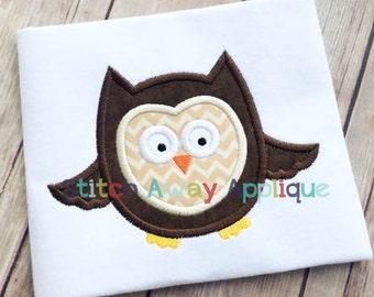 Owl Machine Applique Design