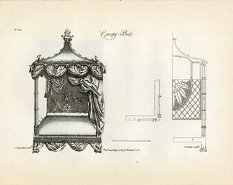 gothic bed | etsy