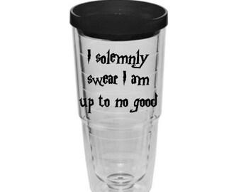 Harry Potter tumbler, travel mug, 24oz