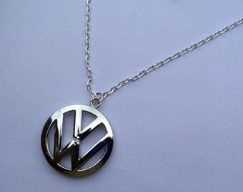 VW Volkswagen Color Necklace Pendant Polo Camper Beetle