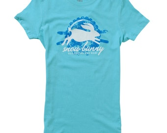 Snowbunny Women's Ski T-shirt