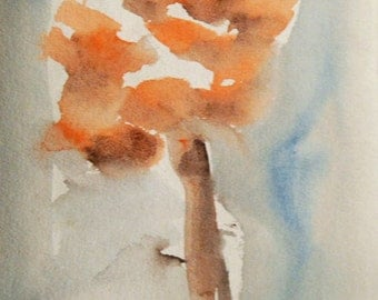 Flower Painting, Watercolor Flower Painting, Flowers, Contemporary Art, Modern Painting,, Modern Art