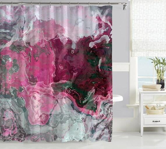 Rideau de douche contemporain rideau de douche tissu for Art et decoration rideaux
