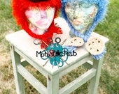 Cookie Monster & Elmo Hats!