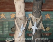 1 Primitive Long Cat and Mouse dolls