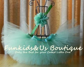 MINT TUTU, Mint Green Tutu-Tutus for Newborn- Photo Prop, Photography Prop- Birthday