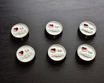Love to Cheer Floating Charm for Floating Lockets-Gift Idea