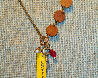 Forever Summer Shabby Chic Necklace
