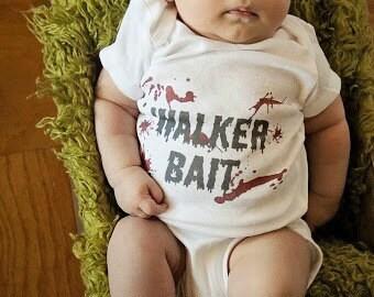 The Walking Dead Outfit Walker Bait Outfit Walker Shirt Walking Dead Outfit The Walking Dead Baby Outfit  Walker Bait Bodysuit Creeper