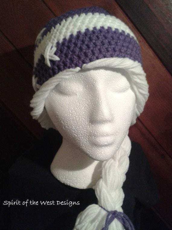 Childs Crochet Ponytail Hat Pattern Hat Crochet Hat Pattern