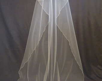 Cathedral Veil, Two Layers, Ivory