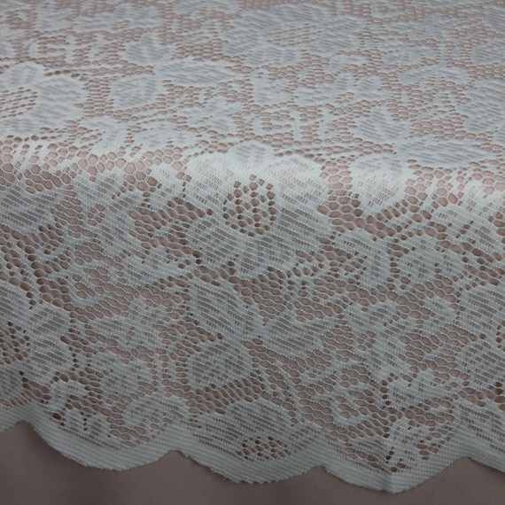 Good Ivory Lace Tablecloth 60 Inches Round, Lace Table Overlays | Lace Table  Toppers, Wedding Decorations, Wedding Table Decor