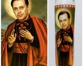 "Steve Buscemi Prayer candle. Saint Buscemi! Great gift! Premium Handmade 9"" Soy Candle!"