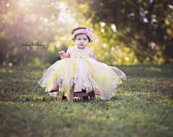 Gorgeous Beautiful Pink Lemonade Tutu Strawberry Lemonade Baby Girl Tutu Dress for 1st Birthday 6-18 months old First Birthday
