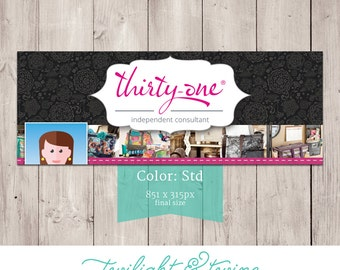 Thirty-one Facebook Cover Photo Image - ( Consultant, Thirty One, 31 )