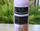 Shampoo all Natural, for Curly Hair made with Melon extract and Rose Water for bouncy healthy curls