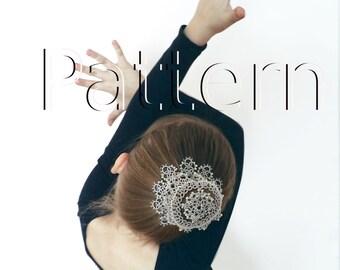 "PDF Tatting pattern ""Hair Net Star"""