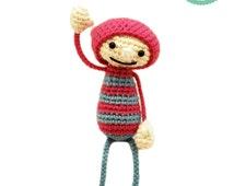 Crochet pattern - Mascot Amigurumi pattern,  Teammate pattern
