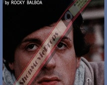 cover book rocky scrapbook  written rocky balboa 1976
