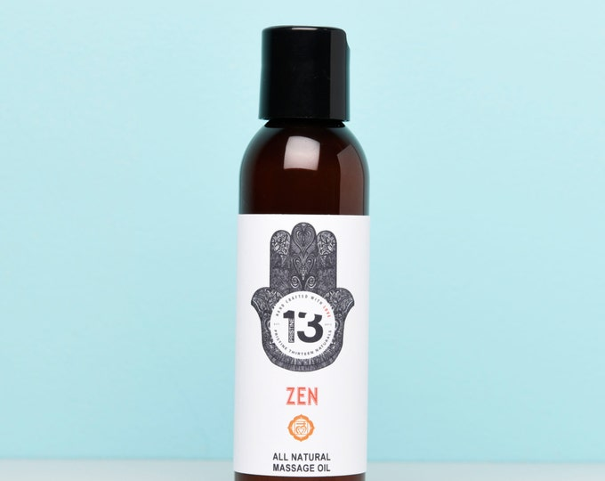 Zen Massage Oil (Lavender, Sage and Ylang Ylang)