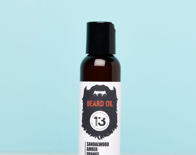 Sandalwood, Amber and Orange Beard Conditioning Oil