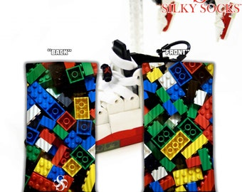 True Colorful Blocks! - Silky Socks