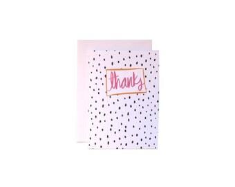 Thanks Dalmatian Print