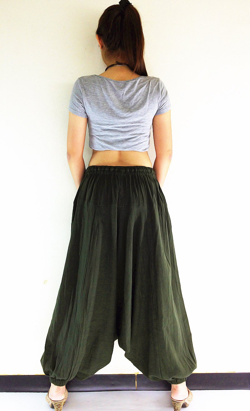 pt302 clothing organic cotton harem by