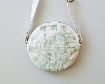 Round Shoulder Bag / marubag 七福神 mb053