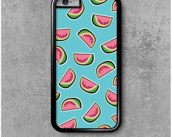 iPhone 6 Case Blue Watermelons + Free Worldwide Shipping
